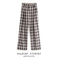 Casual pants Decor S,M,L Autumn 2020 trousers Straight pants High waist street routine Europe and America