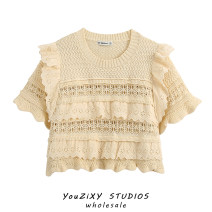 Wool knitwear Summer 2020 S,M,L khaki Short sleeve singleton  Socket other 71% (inclusive) - 80% (inclusive) have cash less than that is registered in the accounts routine street easy Solid color Socket Europe and America