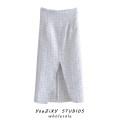 skirt Autumn 2020 XS,S,M,L Decor Mid length dress street Decor Europe and America