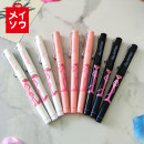 Roller ball pen Miniso / mingchuang Youpin 0.5mm Others black Cap pulling steel wire clip neutral pen 0.5mm Student white collar Quick drying