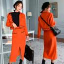 Fashion suit Winter of 2019 S,M,L Picture color (two piece set)