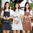 apron Black, brown, beige Sleeveless apron waterproof Simplicity canvas Personal washing / cleaning / care Average size Polyester tableware apron Meizhong public yes Solid color