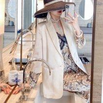 Square dance suit S,M,L,XL,2XL Suspender skirt, apricot coat female Long sleeves Solid color