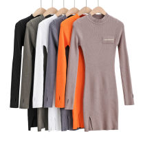 Wool knitwear Autumn 2020 S, M Black, white, gray, khaki, army green, orange Long sleeves singleton  Socket cotton 91% (including) - 95% (excluding) Medium length routine street Self cultivation Half height crew neck routine Solid color Socket AP193460 25-29 years old Other / other thread
