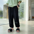 trousers Haima house male 110cm,120cm,130cm,140cm,150cm,160cm summer trousers Korean version There are models in the real shooting Casual pants Leather belt middle-waisted other Don't open the crotch Polyester fiber 90.5% polyurethane elastic fiber (spandex) 9.5% Class B Chinese Mainland