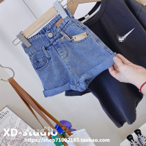 trousers Other / other female Denim (off the shelf) spring and autumn shorts Korean version No model Casual pants Leather belt middle-waisted other Don't open the crotch Other 100% other Other brands Three, four, five, six, seven, eight, nine, ten, eleven, twelve