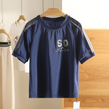 T-shirt Zhangqing color XS,S,M,L,XL Summer 2021 Short sleeve Regular nylon 71% (inclusive) - 85% (inclusive) Other / other X58ET273