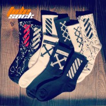 Sports socks Average size 36-44 For men and women Middle cylinder Winter of 2019
