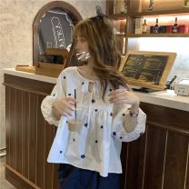 Fashion suit Spring 2021 Average size White top, skirt 18-25 years old 8513F 81% (inclusive) - 90% (inclusive) polyester fiber