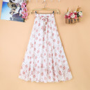 skirt Summer of 2019 Average size Decor 1 Decor 2 Decor 3 Decor 4 Decor 5 Decor 6 Decor 7 Decor 8 Decor 9 Mid length dress commute High waist A-line skirt Type A Zeyalan Korean version