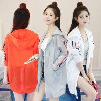 Women's large Summer 2021 Orange [premium], light gray [premium], white [premium] M [recommended 90-100 kg], l [recommended 100-120 kg], XL [recommended 120-140 kg], 2XL [recommended 140-160 kg], 3XL [recommended 160-180 kg], 4XL [recommended 180-200 kg], 5XL [recommended 200-220 kg] Windbreaker easy