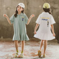 T-shirt Other / other 110cm,120cm,130cm,140cm,150cm,160cm,170cm female summer Short sleeve other Korean version There are models in the real shooting nothing cotton Solid color Cotton 96% polyurethane elastic fiber (spandex) 4% Class B other Chinese Mainland Zhejiang Province Huzhou City