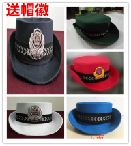Children's performance clothes Big red curled Hat White curled Hat Navy Blue curled hat army green curled hat sea blue curled hat neutral 51-53 53-55 55-57 57-59 large