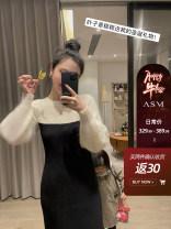 Dress Winter 2020 XS,S,M,L longuette singleton  Long sleeves commute 25-29 years old Simplicity
