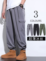 Casual pants Others Youth fashion Gray ice thin, black ice thin, military green ice thin, camouflage ice thin, gray spring and autumn medium thick, black spring and autumn medium thick, military green spring and autumn medium thick, camouflage spring and autumn medium thick M,L,XL,2XL,3XL,4XL,5XL,6XL