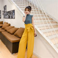 Fashion suit Spring 2020 S,M,L,XL Green vest + yellow pants, single yellow pants, single green top Other / other