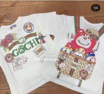 T-shirt White (no return, no change) Other / other 100cm,110cm,120cm,130cm,140cm neutral cotton printing 3, 4, 5, 6, 7