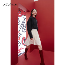 skirt Spring 2021 S M L XL Black and white Short skirt Sweet Natural waist A-line skirt Solid color Type A 30-34 years old XNGPC9301A 31% (inclusive) - 50% (inclusive) other N. PAIA / enpaya nylon Polyamide (nylon) 41.1% cotton 27% Lyocell 15.8% polyester 8.6% flax 7.5% college