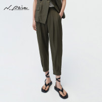 Casual pants Microwave green microwave green (Sun show gifts for buyers) blue blue (Sun show gifts for buyers) S M L XL Summer 2021 trousers Haren pants Natural waist Versatile routine 30-34 years old 91% (inclusive) - 95% (inclusive) XNGES6432A N. PAIA / enpaya silk silk