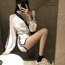 Casual suit Summer 2021 Black, white S,M,L,XL,XXL 18-25 years old