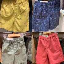 trousers UNIQLO / UNIQLO neutral 110, 120, 130, 140, 150 and 160 summer shorts leisure time No model Casual pants Leather belt middle-waisted cotton Cotton 95% other 5% Class B 2, 5, 7, 8, 9, 10