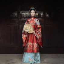 National costume / stage costume Autumn of 2019 Jacket in stock, horse face skirt in stock S,M,L The flower Dynasty