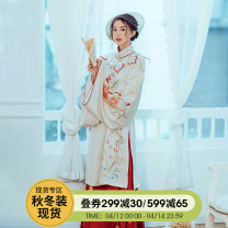 National costume / stage costume Winter of 2019 Jacket on stock, horse face skirt on stock, cloud shoulder on stock S. M, l, average size CF19HZ027 The flower Dynasty