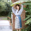 National costume / stage costume Summer 2020 Aircraft sleeve cardigan in stock, two pieces of skirt in stock, bow tie [elastic] - in stock, bow tie (PIN) - in stock, hair circle - in stock, aircraft sleeve cardigan - pre-sale 4.25 in succession, two pieces of skirt - pre-sale 4.22 in succession