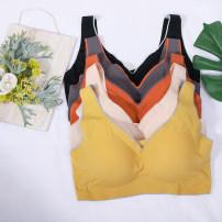 Women's large Summer 2021 Apricot, orange, dark gray, yellow, black Large XL, 2XL Vest / sling singleton  commute thin Socket Solid color Korean version Three dimensional cutting