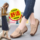 Low top shoes 35,36,37,38,39,40,41,42,43 Other / other Round head Cattle suede (frosted) Flat heel Low heel (1-3cm) Shallow mouth PU Autumn 2020 Trochanter leisure time Adhesive shoes Youth (18-40 years old), middle age (40-60 years old) Solid color rubber Single shoes Metal decoration PU daily