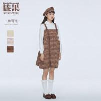 Lolita / soft girl / dress Baciobouquet / Corylus cocoa bouquet L,S