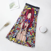 skirt Spring 2020 Average size 777-1 blue hair, 777-2 orange hair, 777-3 red hair Mid length dress Pleated skirt other 25-29 years old 179 Chiffon 81% (inclusive) - 90% (inclusive) Chiffon other printing