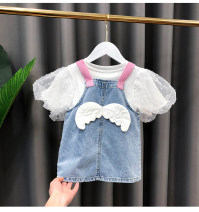 Dress female Other / other 80cm,90cm,100cm,110cm,120cm,130cm Other 100% summer Korean version Strapless skirt 12 months, 18 months, 2 years old, 3 years old, 4 years old, 5 years old, 6 years old