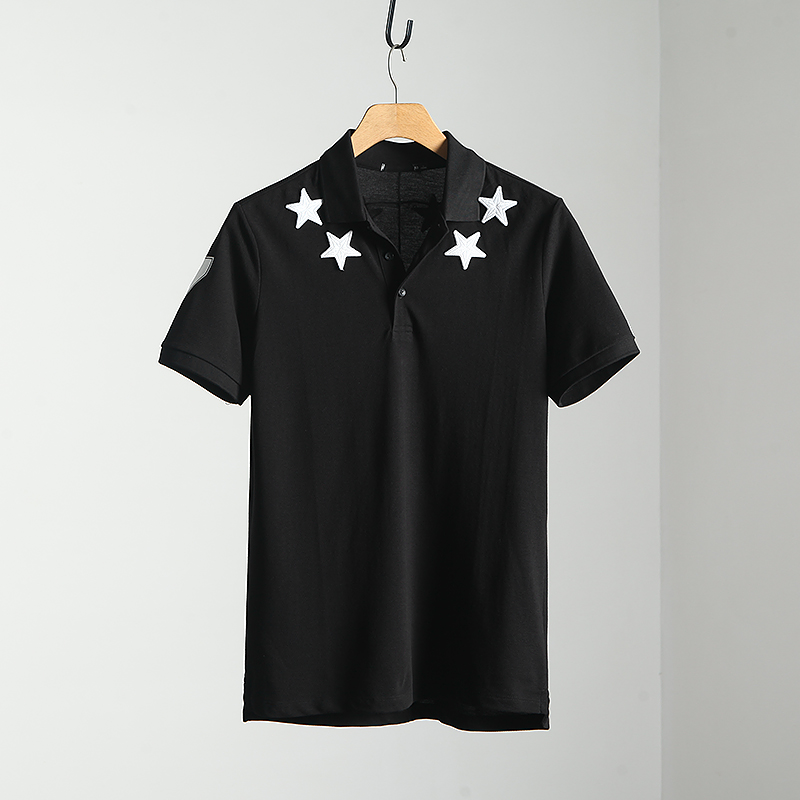Polo shirt Other / other Fashion City routine black S M L XL 2XL Self cultivation Other leisure summer Short sleeve routine youth 2018
