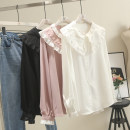 shirt White, pink, black The recommended weight for 1XL is 130-155 kg, that for 2XL is 160-180 kg, and that for 3XL is 180-200 kg Spring of 2019 Cellulose acetate 30% and below Long sleeves Regular Straight cylinder