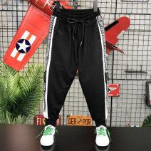 trousers Other / other male 130cm,140cm,150cm,160cm,170cm black spring and autumn trousers Korean version There are models in the real shooting Harlem Pants / knickerbockers Leather belt middle-waisted cotton Don't open the crotch Class B 7, 8, 9, 10, 11, 12, 13, 14 Chinese Mainland