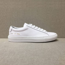 Low top shoes 5354 CASUAL TYPE PRODUCT Round head Top leather Flat bottom Flat heel (1cm or less) Shallow mouth top layer leather Autumn of 2019 Frenulum leisure time Sewing shoes Youth (18-40 years old), middle age (40-60 years old) Solid color rubber Single shoes top layer leather daily Napa