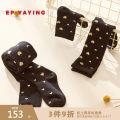 Children's socks (0-16 years old) other golden 110cm 130cm 150cm Elegant.prosper / YAYING winter Class B Cotton 77.4% polyamide fiber (nylon) 20.5% polyurethane elastic fiber (spandex) 2.1% VDEACU027A Autumn of 2019