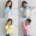 Sweater / sweater 80cm (XS), 90cm (s), 100cm (m), 110cm (L), 120cm (XL), Korean purchase does not return, do not change, consult size before order other female White, pink, yellow and blue Other / other Korean version Solid color