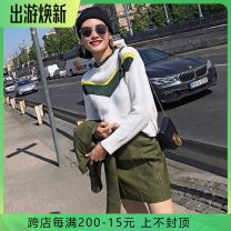 Fashion suit Autumn of 2019 4,6,8,10,12 Top, skirt 25-35 years old