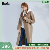 woolen coat Winter of 2019 S M L wool 51% (inclusive) - 70% (inclusive) have more cash than can be accounted for Long sleeves commute other routine tailored collar Solid color Cape type Korean version Puella 25-29 years old Same model in shopping mall (sold online and offline)