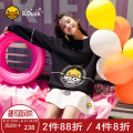 Sweater / sweater Autumn of 2018 black XSSML Long sleeves Socket routine singleton  routine Crew neck easy Sweet routine Cartoon animation 18-24 years old B.Duck 3823ATB013-8000 printing cotton Cotton 86.4% polyester 13.6% Pure e-commerce (online only) college