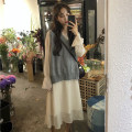 Fashion suit Autumn of 2018 Average size One piece vest, one piece dress 18-25 years old