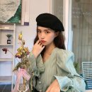shirt black , Puhe green One size fits all, XXS pre-sale Summer 2021 other 96% and above Long sleeves commute Regular V-neck Single row multi button pagoda sleeve Solid color Straight cylinder Korean version Button
