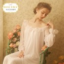 Nightdress ROSE TREE Soft pink off white mint light purple XSSMLXLXXL sexy Long sleeves pajamas longuette spring Solid color youth V-neck spandex lace More than 95% Mesh fabric taf022 Fall 2017 Polyamide fiber (nylon) 90% polyurethane elastic fiber (spandex) 10% Pure e-commerce (online only)