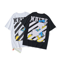 T-shirt Black, white M,L,XL,2XL Short sleeve Crew neck easy Regular routine cotton 96% and above 18-24 years old originality Cartoon animation