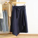 skirt Spring 2021 S,M,L,XL,2XL Tibetan white stripe Mid length dress commute Natural waist stripe Type A RKR15Q008 51% (inclusive) - 70% (inclusive) Other / other Korean version