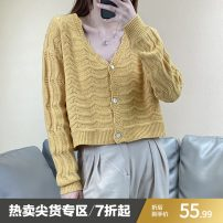 Wool knitwear Winter 2020 Average size Yellow, brown, white, brick red, grey blue, navy blue Long sleeves wool More than 95% have cash less than that is registered in the accounts routine Solid color Single breasted ZPY08W008 Other / other