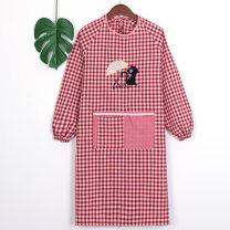 apron Sleeve apron antifouling Japanese  pure cotton Personal washing / cleaning / care Average size public no Cartoon