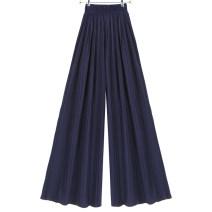 Casual pants F19 pink moti, G16 Khaki moti, G20 blue moti, G20 black moti, G24 dark blue moti L,M,S Summer 2020 Cropped Trousers High waist Versatile Thin money 51% (inclusive) - 70% (inclusive)